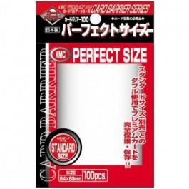 KMC Standard Sleeves - Perfect Size (100 Fundas)