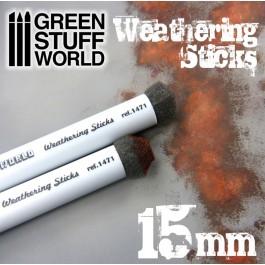 [GSA] Pinceles Weathering 15mm