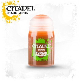 FUEGAN ORANGE                  Paint - Shade
