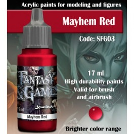 MAYHEM RED - Scale 75