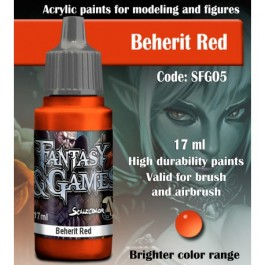 BEHERIT RED - Scale 75