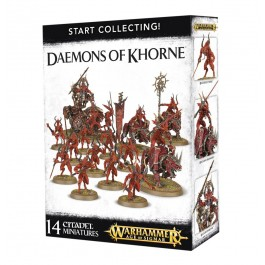 [WAR] START COLLECTING! DAEMONS OF KHORNE