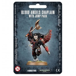 [WAR] BLOOD ANGELS CHAPLAIN WITH JUMP PACK