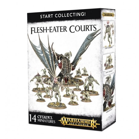 [WAR] START COLLECTING! FLESH-EATER COURTS