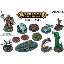 [WAR] AGE OF SIGMAR HERO BASES