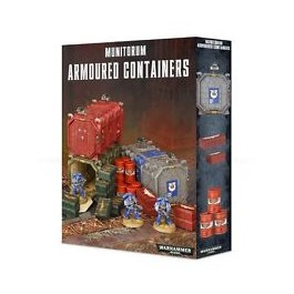 [WAR] MUNITORUM ARMOURED CONTAINERS