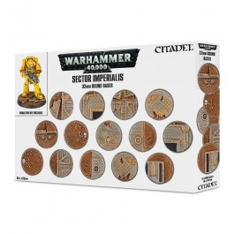 [WAR] SECTOR IMPERIALIS: 32MM ROUND BASES