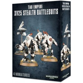 [WAR] TAU EMPIRE XV25 STEALTH BATTLESUITS