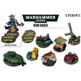 [WAR] WARHAMMER 40000: HERO BASES