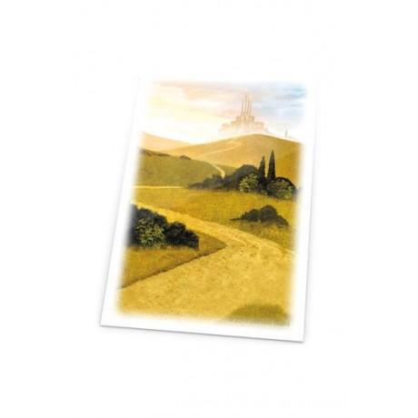 Ultimate Guard Printed Sleeves Fundas de Cartas Tamaño Estándar Lands Edition Llanura I (80)