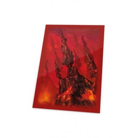 Ultimate Guard Printed Sleeves Fundas de Cartas Tamaño Estándar Lands Edition Montaña I (80)