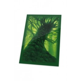 Ultimate Guard Printed Sleeves Fundas de Cartas Tamaño Estándar Lands Edition Bosque I (80)
