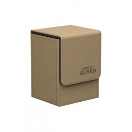 Ultimate Guard Flip Deck Case 80+ Caja de Cartas Tamaño Estándar Beige