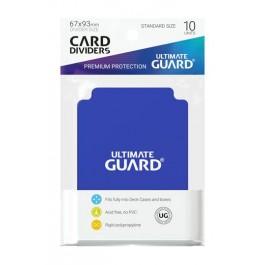 [ULT]Ultimate Guard Card Dividers Tarjetas Separadoras para Cartas Tamaño Estándar Azul (10)