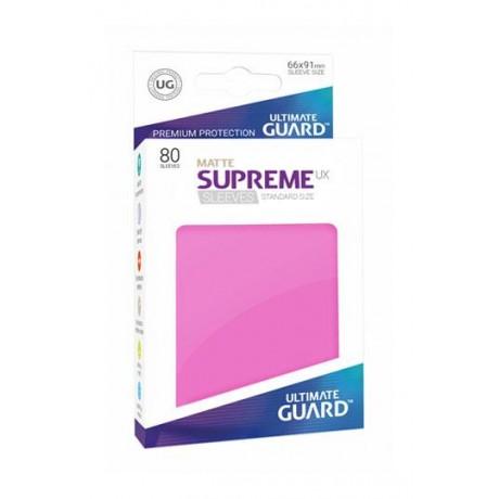 [ULT]Ultimate Guard Supreme UX Sleeves Fundas de Cartas Tamaño Estándar Negro (80)