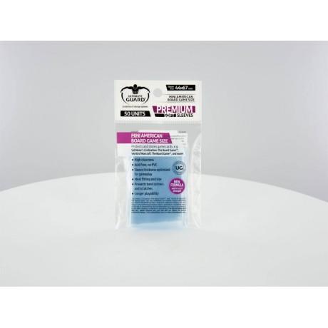 Ultimate Guard Premium Soft Sleeves Fundas de Cartas Tamaño Estándar Transparente (100)
