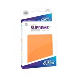 [ULT]Ultimate Guard Supreme UX Sleeves Fundas de Cartas Tamaño Estándar Amarillo Mate (80)