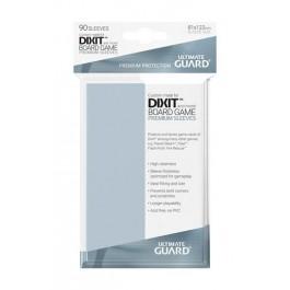 [ULT] Ultimate Guard Premium Soft Sleeves Fundas de Cartas Tamaño Estándar Transparente 66x93mm (50)