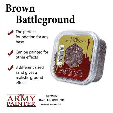 [ACW] Brown Battleground - Basing