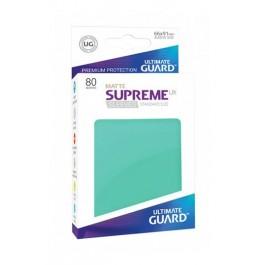 [ULT] Ultimate Guard Supreme UX Sleeves Fundas de Cartas Tamaño Estándar Turquesa Mate (80)