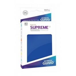 [ULT]Ultimate Guard Supreme UX Sleeves Fundas de Cartas Tamaño Estándar Azul Mate (80)
