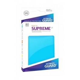 [ULT] Ultimate Guard Supreme UX Sleeves Fundas de Cartas Tamaño Estándar Azul Celeste Mate (80)
