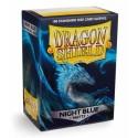 [AJC] Dragon Shield Standard Sleeves - Matte Night Blue (100 Fundas)