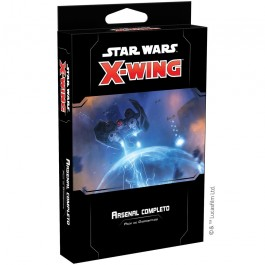 [XWG] STAR WARS X-WING - ARSENAL COMPLETO