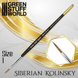 [AGS] GOLD SERIES Pincel Kolinsky Siberiano - 1