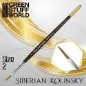 [AGS] GOLD SERIES Pincel Kolinsky Siberiano - 2