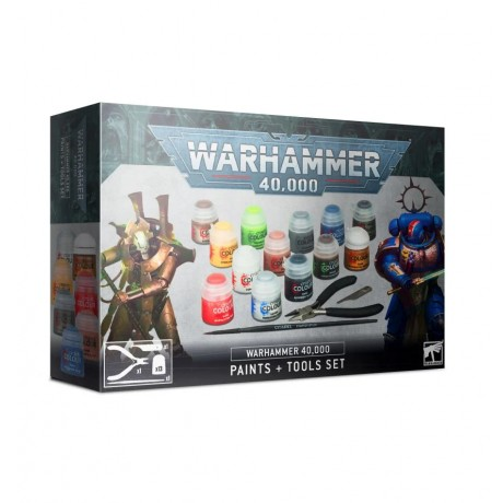 [WAR] Juego de pinturas y herramientas Warhammer 40,000