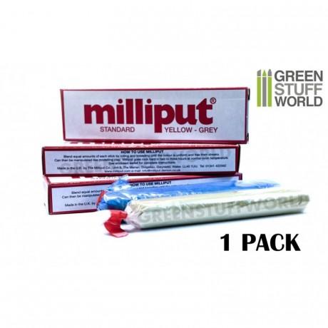 [GSA] Milliput Standard Yellow Grey