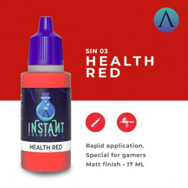 [SC75] INSTANT COLOUR Health Red - Scale 75