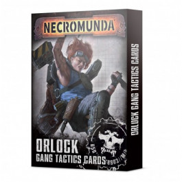 [WAR] Necromunda: Orlock Gang Tactics Cards (Inglés)