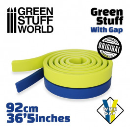 [AGS] Masilla verde en Rollo 92 cm CON HUECO