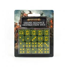 [WAR] AOS: GRAND ALLIANCE DESTRUCTION DICE SET