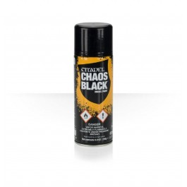 SPRAY NEGRO CAOS
