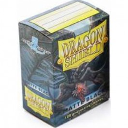 Dragon Shield Standard Sleeves - Matte Black (100 Fundas)
