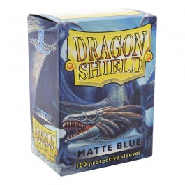 Dragon Shield Standard Sleeves - Matte Blue (100 Fundas)