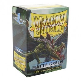 Dragon Shield Standard Sleeves - Matte Green (100 Fundas)