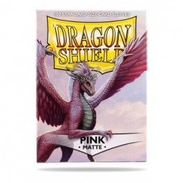 [JDC] Dragon Shield Standard Sleeves - Matte Pink (100 Fundas)