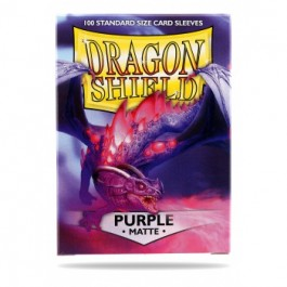 [JDC] Dragon Shield Standard Sleeves - Matte Purple (100 Fundas)