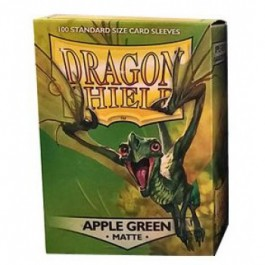[JDC] Dragon Shield Standard Sleeves - Matte Apple Green (100 Fundas)