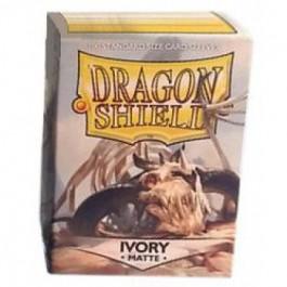 [JDC] Dragon Shield Standard Sleeves - Matte Ivory (100 Fundas)