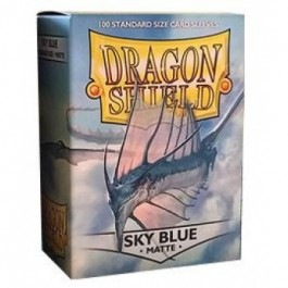[JDC] Dragon Shield Standard Sleeves - Matte Sky Blue (100 Fundas)